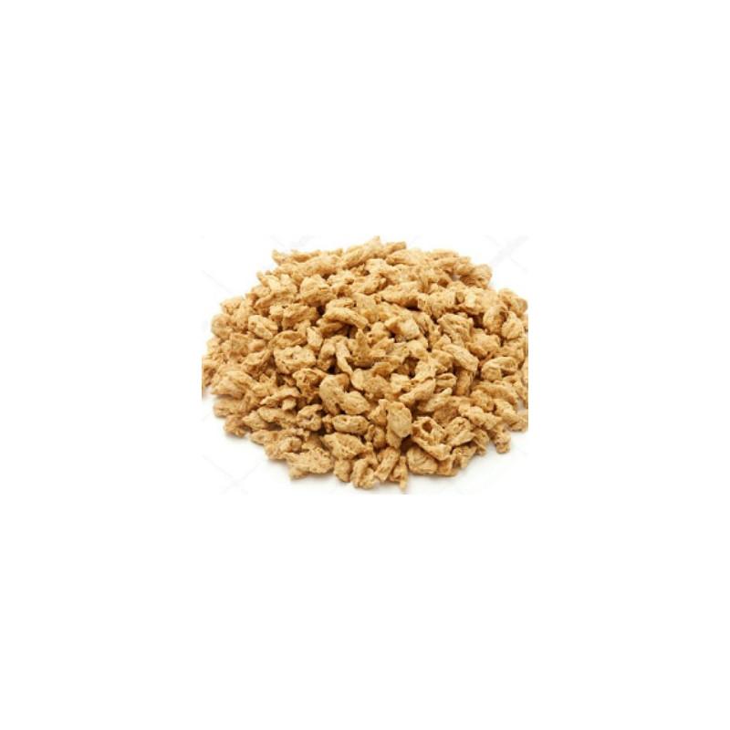 Proteína de guisantes texturizada