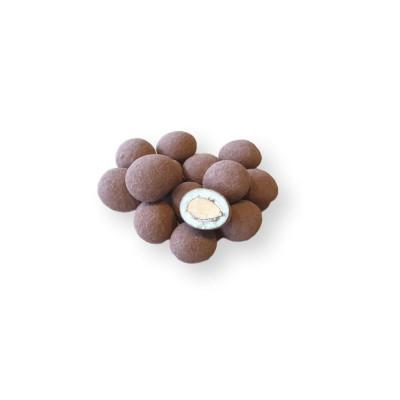 Almendras al cacao